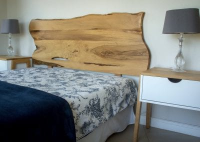 Forest Elder Headboard and Nightstands